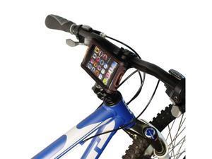 Ibera IB-PB6Q4 Weather Resistant Touchscreen Smartphone Case Bicycle Stem Mount (Black)