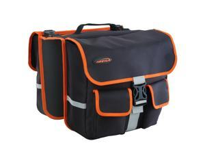 Ibera IB-BA8 Bicycle Panniers Messenger Bag Combo