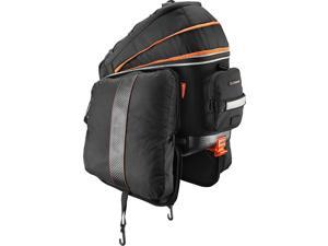 Ibera PakRak Commuter Bicycle Bag with Expandable Mini Panniers