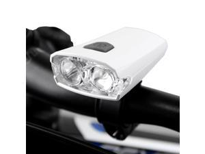 Ibera BV Water-Resistant Quick-Release Cool White LED Rechargeable Bicycle Light