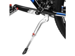 "BV Rugged Adjustable Kickstand for Heavier Bicycles 24"" - 29"", Spring-Loaded Latch"