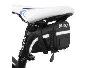 BV Bicycle Strap-On Medium Saddle Bag, Inside Mesh Pocket, BV-SB5-M