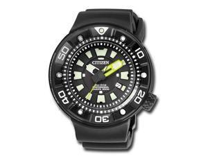 Citizen Promaster Diver BN0175-19E Black / Black Polyurethane Analog Eco-Drive E168 Men's Watch