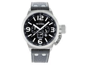 TW Steel Canteen 50mm Black Dial Chronograph Mens Watch TW4