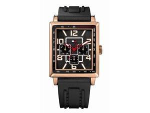 Tommy Hilfiger Dylan Multifunction Black Strap Silicone Men's Watch #1790702
