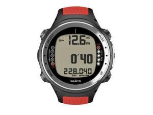 Suunto D4i with Red Strap and USB - SS018533000