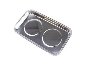"""Magnetic 5-1/2"""" Stainless Steel Parts & Hobby Tray"""