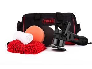 Presa Turbine 6 in. All-in-One Dual Action DA Random Orbital Polisher Kit with Polishing Pads and Ch