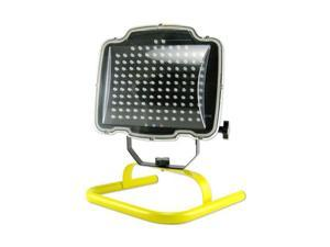 Tooluxe 130-LED Rechargeable Cordless Work Light with Stand