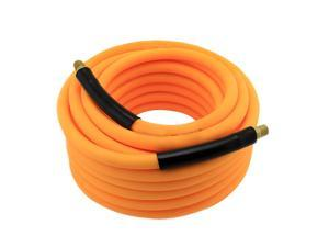 Neiko 30881A 3/8-Inch Neon Orange Hybrid Air Hose - 50 Feet
