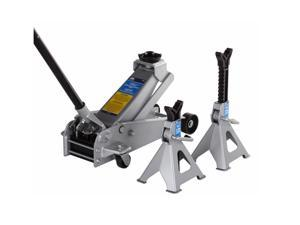 OTC Tools 3-Ton Service Jack with Pair of 3-Ton Jack Stands