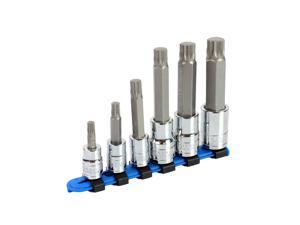Capri Tools XZN Triple Square Socket Bit Set, 6-Piece