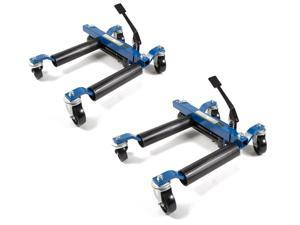 Capri Tools Hydraulic Car Positioning 9 inch Tire Jack/Dolly, 2-Pack