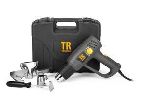 TR Industrial Heat Gun Kit, Variable Temperature Control, 1500-Watt
