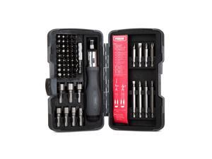 Presa 62-Piece Ratcheting Screwdriver Set with Bits and Nut Drivers Setters