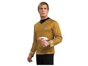 Star Trek Movie Deluxe Gold Shirt Costume Adult Medium