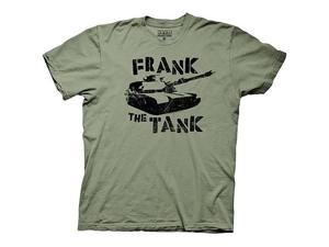 Old School Frank The Tank Green T-Shirt
