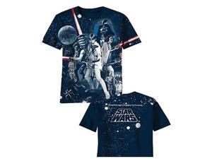 Star Wars War of Wars All Over Print Blue T-Shirt