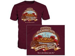 Dr. Horrible's Sing-Along Blog Hammer Apple Pie T-Shirt