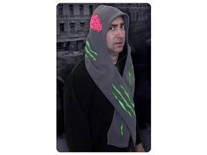 Zombie Attacked Fleece Scarf