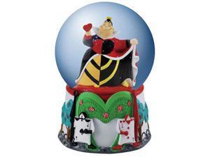 Alice in Wonderland Queen of Hearts Water Globe