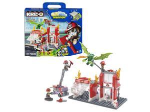 Kre-O Cityville Invasion Fire Station Dragon Attack Set