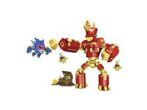 Mega Bloks Skylanders Arkeyan Robot King and Pop-Fizz Set