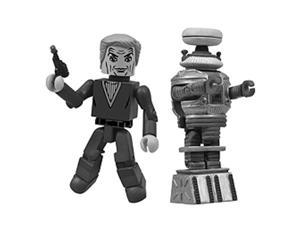 Lost in Space Black & White Minimate 2-Pack - SDCC Exclusive
