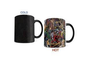 DC Comics Trinity Wars Morphing Mug