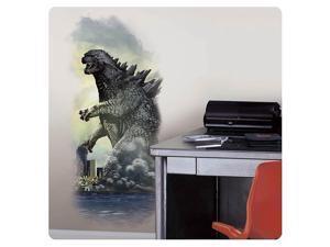 Godzilla City Wall Graphix Peel and Stick Wall Decal