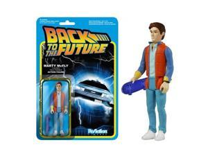 Back to the Future Marty McFly ReAction 3 3/4-Inch Figure