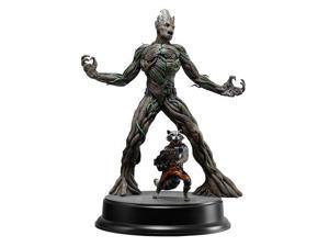 Guardians of the Galaxy Groot with Rocket Raccoon Model Kit