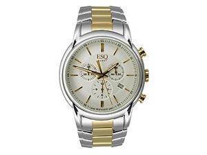 ESQ by Movado 07301399 Quest Analog Chronograph Two-tone Men's watch