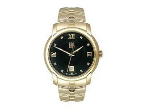 ESQ by Movado Muse Gold-plated Bracelet Black Dial Men's watch #07301345