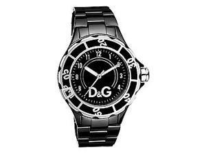 D&G Dolce & Gabbana New Anchor Black Dial Men's watch #DW0663