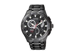 Citizen Eco-Drive Perpetual Calendar Black Dial Men's Watch #BL809752E