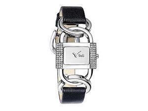Dolce & Gabbana Donna Silver-Tone Dial Women's Watch #DW0588
