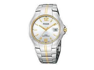 Pulsar Steel Sport Bracelet Silver Dial Men's Watch #PXH752