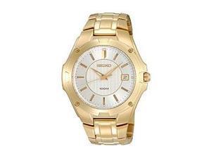 Seiko Gold-tone Dress Mens Watch SGEE62