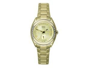ESQ Origin Gold-Tone Stainless Steel with Diamonds Women's watch #07101425