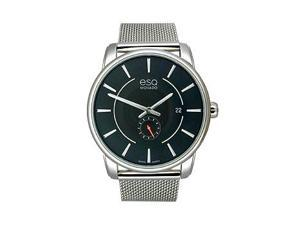 ESQ Capital Stainless Steel Black Dial Men's Watch #07301444