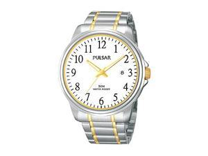 Pulsar Dress Two-Tone Stainless Steel Men's watch #PS9163X