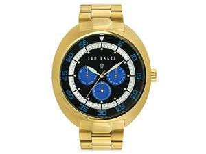 Ted Baker Multifunction Gold-Tone Stainless Steel Men's Watch #TE3047