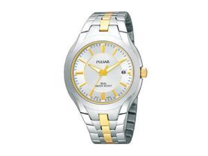 Pulsar by Seiko Two-tone Stainless Steel Men's watch #PXHA25