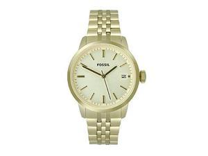 Fossil Townsman Champagne Dial Mens Watch #FS4821