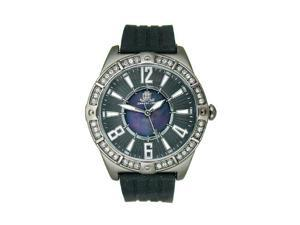 JLO Three-Hand Silicone - Black Womens watch #JL/2697BMBK