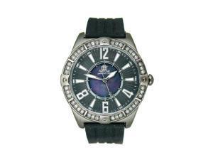 JLO Three-Hand Silicone - Black Women's watch #JL/2697BMBK
