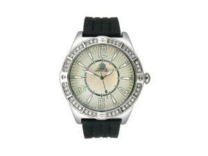 JLO Three-Hand Silicone - Black Women's watch #JL/2697WMBK
