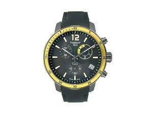 Tissot Quickster Chrono Football Silicone - Black Men's watch #T095.449.37.057.00