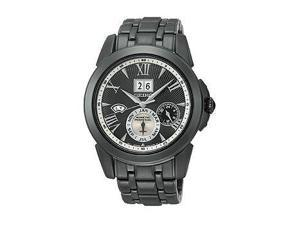 Seiko Le Grand Sport Kinetic Stainless Steel - Black Men's watch #SNP105